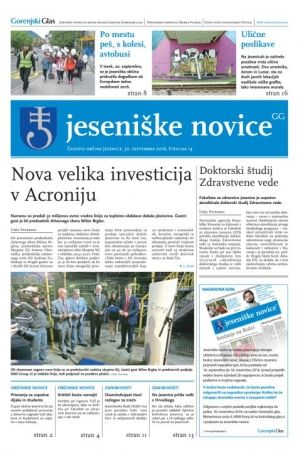 Jeseniške novice, 30. september 2016-14