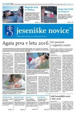Jeseniške novice, 15. januar 2016-1