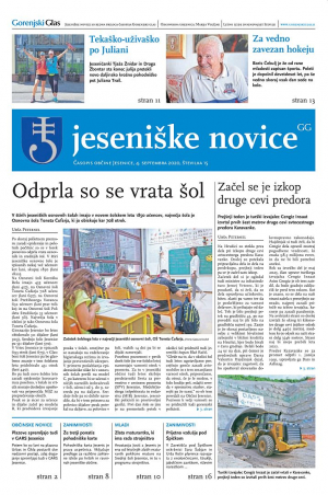 Jeseniške novice, 4. september 2020-15
