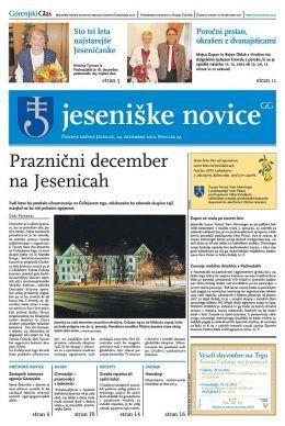 Jeseniške novice, 24. dec 2012, št.24