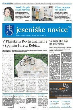 Jeseniške novice, 5. okt 2012, št.18