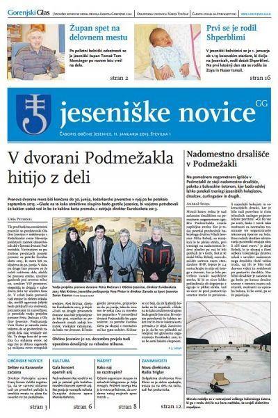 pdfJeseniške novice, 11. jan 2013, št.1