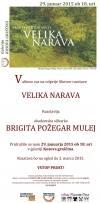 Odprtje likovne razstave Brigite Požegar Mulej: Velika narava