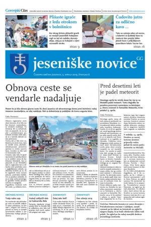 Jeseniške novice, 5. april 2019-6