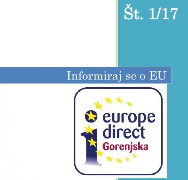 Europe Direct Gorenjska - bilten št. 1/2017