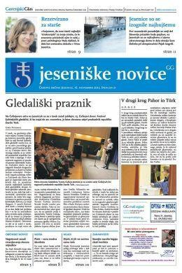 Jeseniške novice, 16. nov 2012, št.21