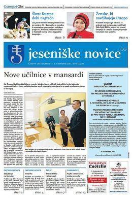 Jeseniške novice, 2. nov 2012, št.20