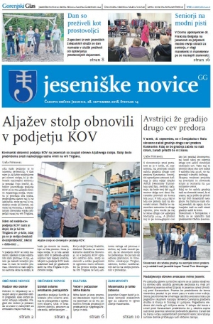 Jeseniške novice, 28. september 2018-14